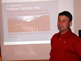 La Sociedad Suiza de Geografía Aplicada (SSGA) entregó el Premio 2007 a Jürg Suter por su tesina sobre la rentabilidad de la línea del Canfranc