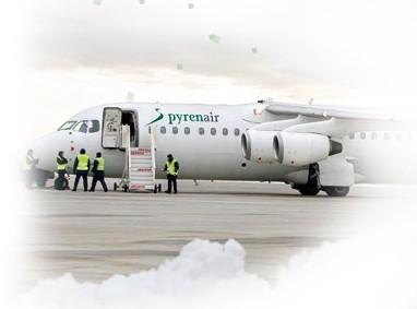 Pyrenair volará a Londres y Sevilla el próximo invierno