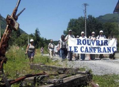 La línea internacional de Canfranc ya tiene 80 años