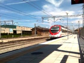 Primeras cifras del tren de cercanías de Zaragoza.