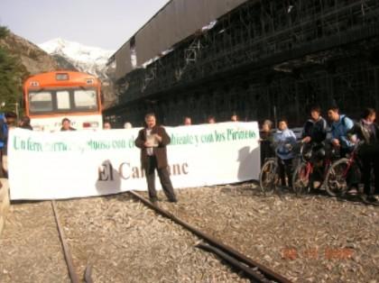 Noviembre un mes intenso para la reapertura del Ferrocarril Internacional de Canfranc